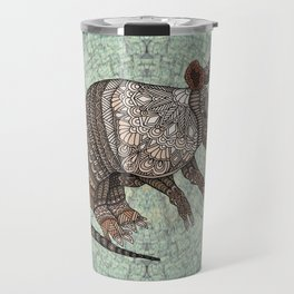 Ornate Armadillo Travel Mug