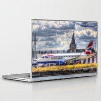 british Laptop & iPad Skins featuring British Airways  by David Pyatt