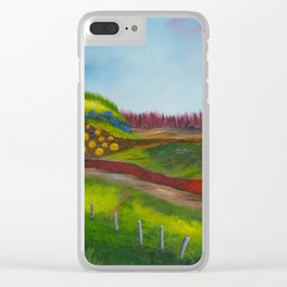Traveling Through Clear iPhone Case