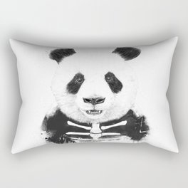 Zombie panda Rectangular Pillow