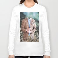 suit Long Sleeve T-shirts featuring Suit by John Turck