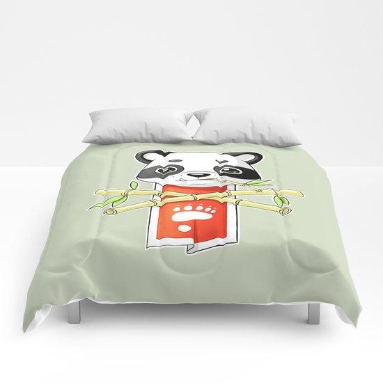 Panda Banner Comforters