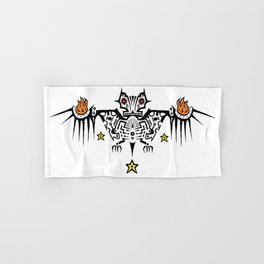 Fire Bat Hand & Bath Towel