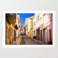 spain Art Prints featuring Spain by Nskey