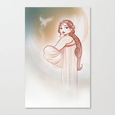 Moon Fairy Canvas Print