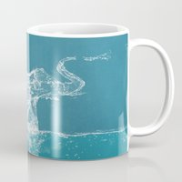 elephant Mugs featuring Elephant by Paula Belle Flores