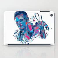 daryl dixon iPad Cases featuring Daryl Dixon // OUT/CAST by Largetosti