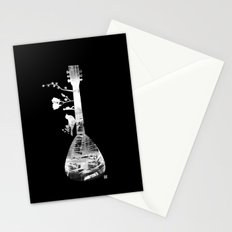 Guitar Childhood Stationery Cards