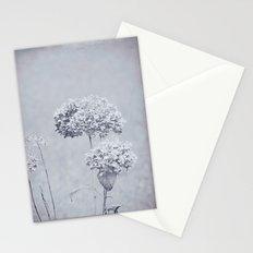Dried Hydrangea Flowers Dreamy Monochrome Cool Tones Autumn Botanical Stationery Cards