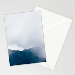 wandering the mist Stationery Cards