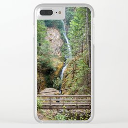 Hole-In-The-Wall Falls Clear iPhone Case