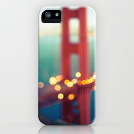 Meet Me In San Francisco iPhone Case