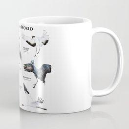 Cranes of the World Coffee Mug
