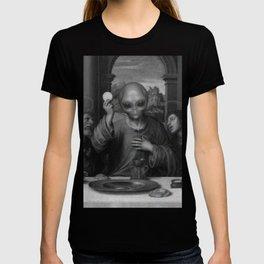 Alien Jesus T-shirt