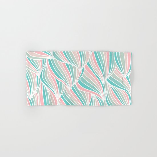 Cool Colorful Ocean Waves Hand & Bath Towel
