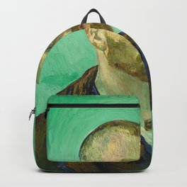 Self Portrait dedicated to Paul Gauguin by Vincent Van Gogh Backpack