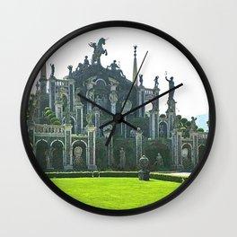 Isola Bella Italy photography   Wall Clock