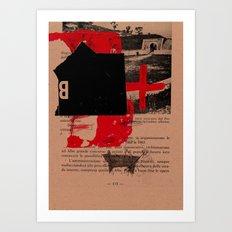 trascrizioni 8 Art Print
