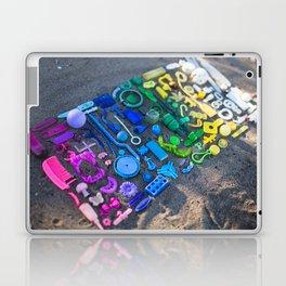 found on the beach Laptop & iPad Skin