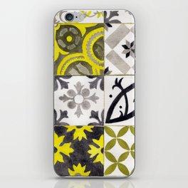 JD_tiled floor1–gouache iPhone Skin