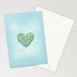 Ceci n'est pas un coeur Stationery Cards