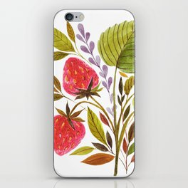 Early Summer Strawberries Are The Sweetest iPhone Skin