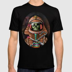 The Pharaoh's Ascension Black Mens Fitted Tee LARGE