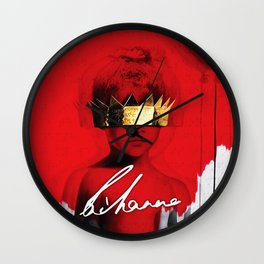 RIHANNA TOUR DATES 2019 MELATI Wall Clock