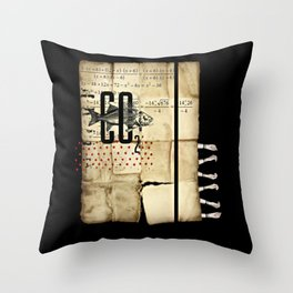 Fish. Folly. Throw Pillow