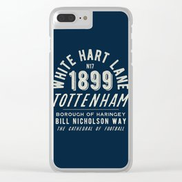 The Lane London Football Ground Clear iPhone Case