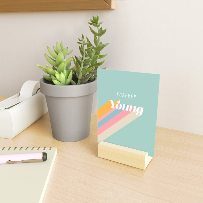 Forever Young Mini Art Print