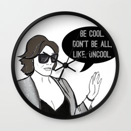Be Cool Wall Clock