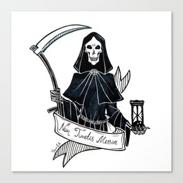 Don't Fear the Reaper Canvas Print