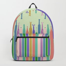 Long Neck Animals Backpack