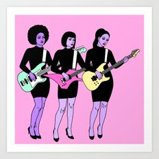 ADDICTED TO LOVE Art Print