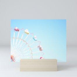 Fryeburg Fair Ferris Wheel Mini Art Print