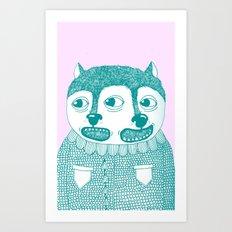 Going Twice Art Print