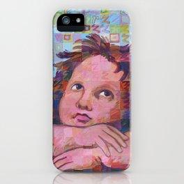 Sistine Cherub No. 2 iPhone Case