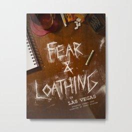 Fear & Loathing Metal Print