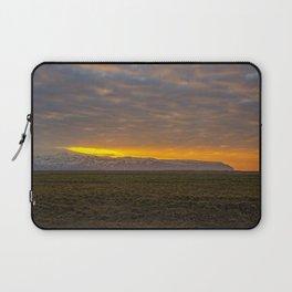 Eyjafjallajökull Sunrise Iceland Laptop Sleeve