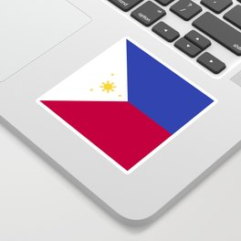 Philippines flag emblem Sticker