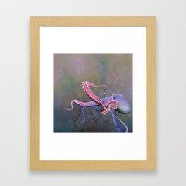 devilfish Framed Art Print
