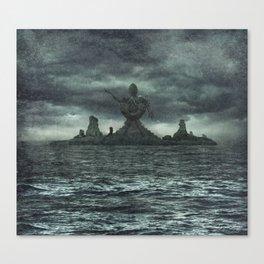 R'lyeh Rises Canvas Print