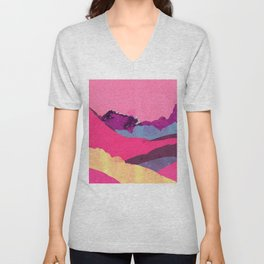 Candy Mountain Unisex V-Neck