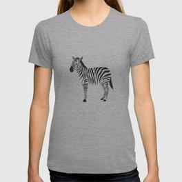 black and white zebras T-shirt