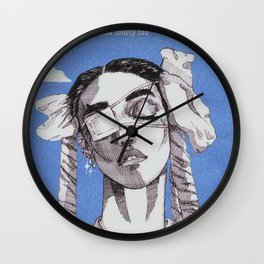 home with you Wall Clock