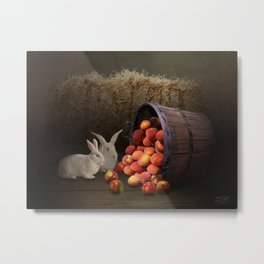 Fruit of the Rabbit Metal Print