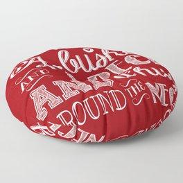 I Love You A Bushel And A Peck Floor Pillow