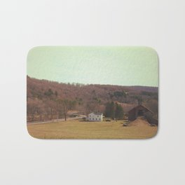 Barn Scene Bath Mat
