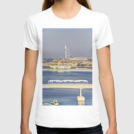 Burj Al Arab and Palm Jumeirah Monorail T-shirt